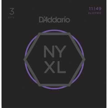 D´addario NYXL1149 Medium cuerdas para guitarra eléctrica